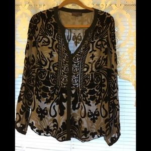 Hale Bob blouse